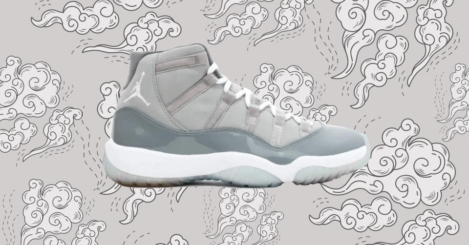 De Air Jordan 11 'Cool Grey' maakt zijn derde comeback
