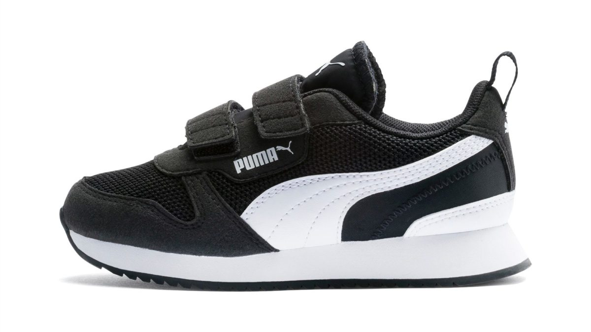 black trainers kids