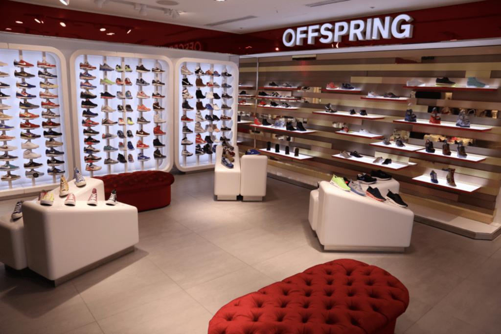 Sneakerwinkels Londen OFFSPRING