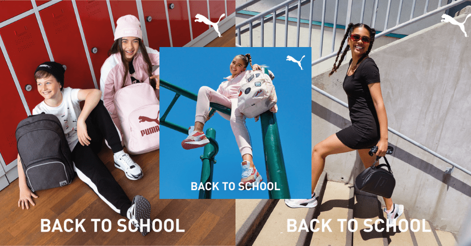 Puma Back To School Sale 💥 krijg 25% korting