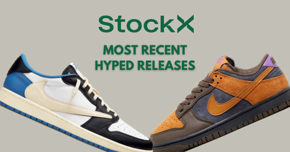 StockX Hyped Releases
