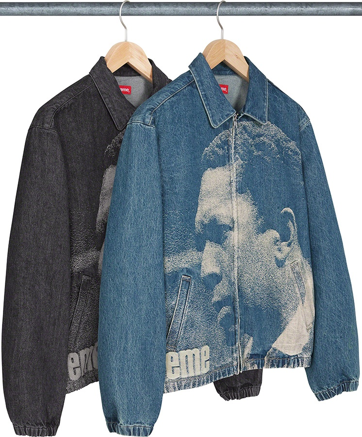 Supreme John Coltrane A Love Supreme Denim Harrington Jacket FW 21