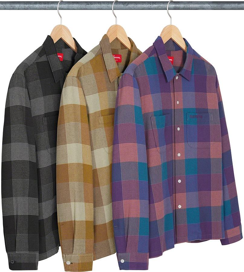 Supreme Plaid Flannel Shirt FW 21
