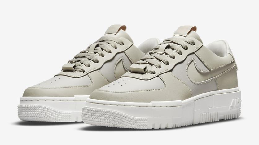 Nike Air Force 1 Pixel 'Light Stone'