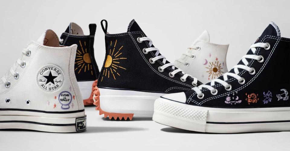 Scoor Converse sneakers met jouw sterrenbeeld