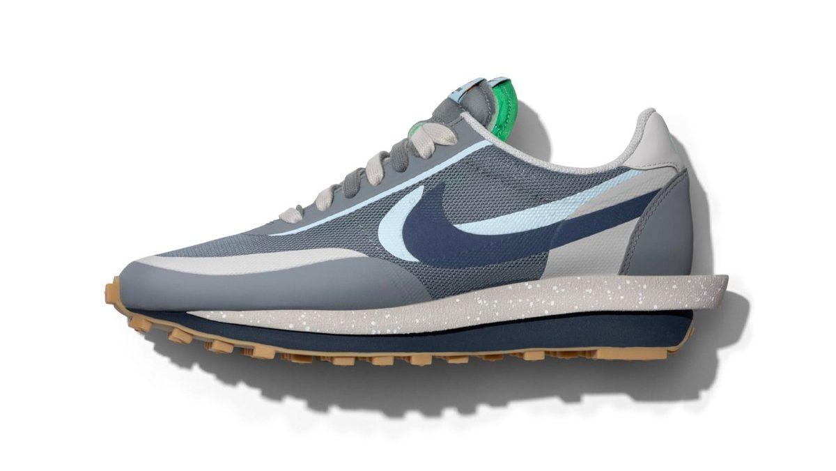 sacai x Nike LDWaffle x CLOT 'Cool Grey'