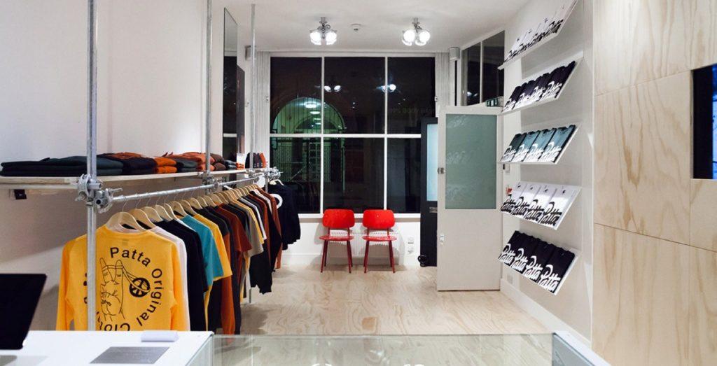 Sneakerwinkels Londen Patta