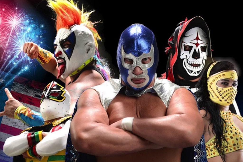Lucha Libre worstelaars