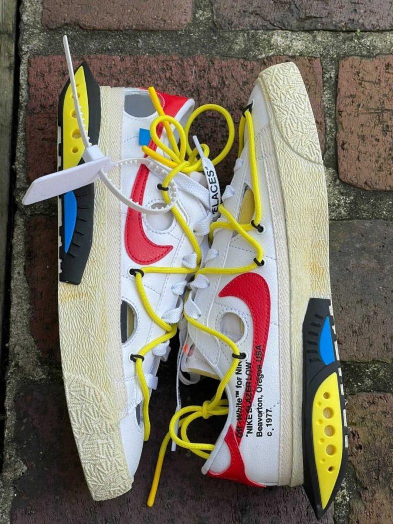 Off-White x Nike Blazer Low
