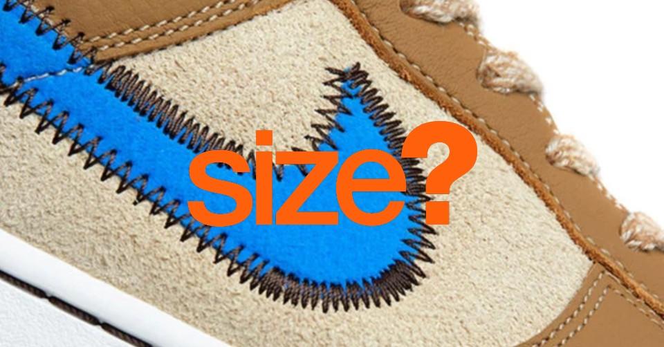 Eerste beelden van een size? x Nike Dunk Low collab?