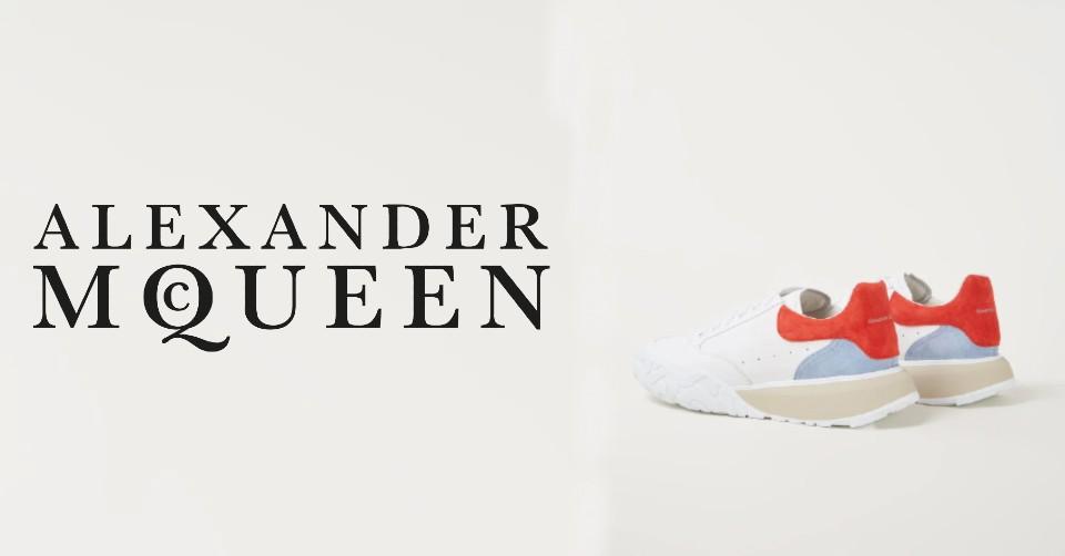 Shop deze Alexander McQueen sneakers nu bij de Bijenkorf