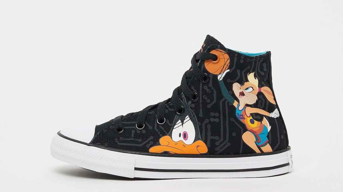kids sneakers converse space jam