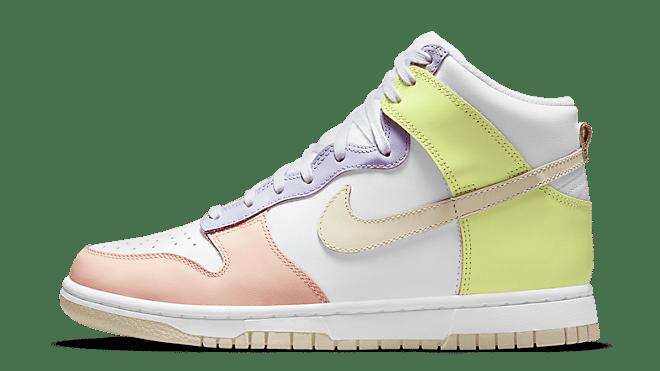 Nike WMNS Dunk High 'Lemon Twist' | DD1869-108