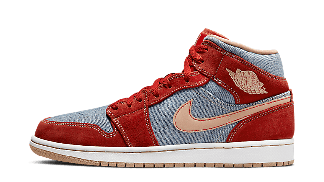 Hottest Sneaker Releases Air Jordan 1 Mid 'Denim'