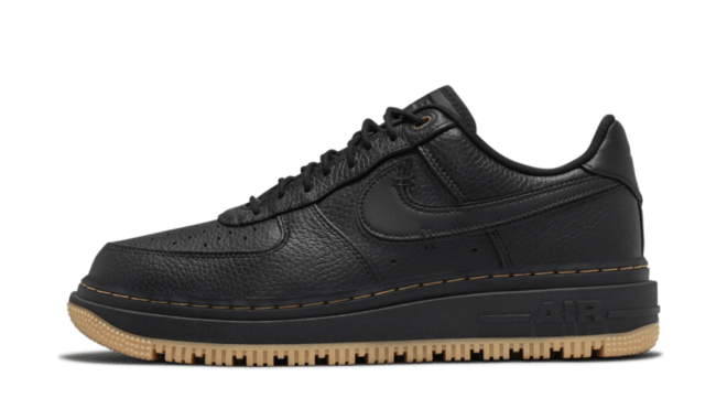Nike Air Force 1 Low Luxe 'Black' | DB4109-001