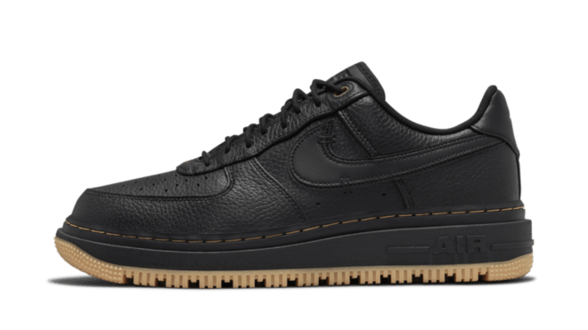 Hottest Sneaker Releases Nike Air Force 1 Low Luxe 'Black'