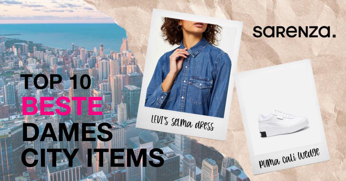Top 10 beste dames city items van Sarenza