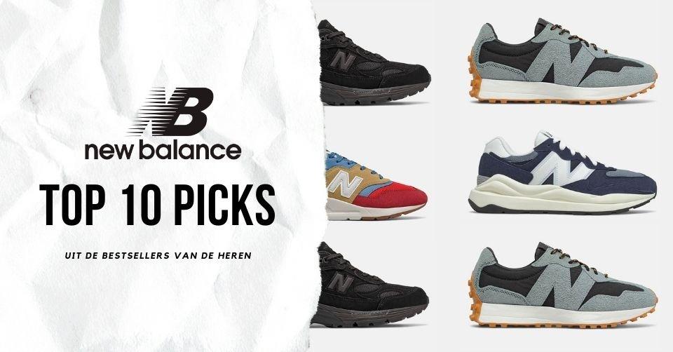 Onze top 10 picks uit de New Balance bestsellers voor heren