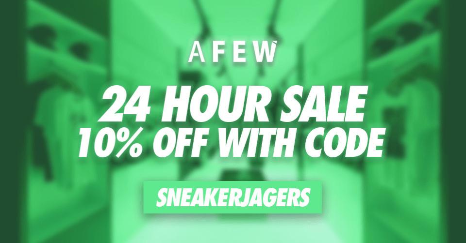 AFew 24 hour sale Sneakerjagers