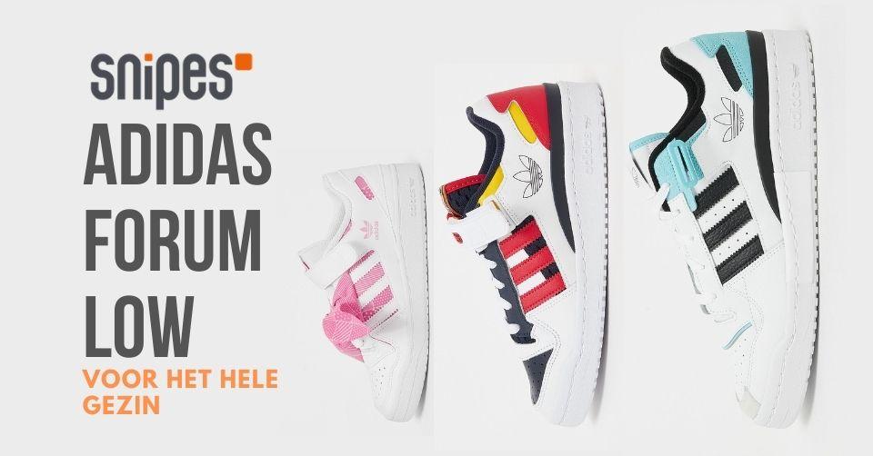 Adidas Forum Low voor het hele gezin