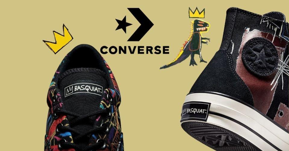 De Converse x Basquiat wordt bijna gereleased