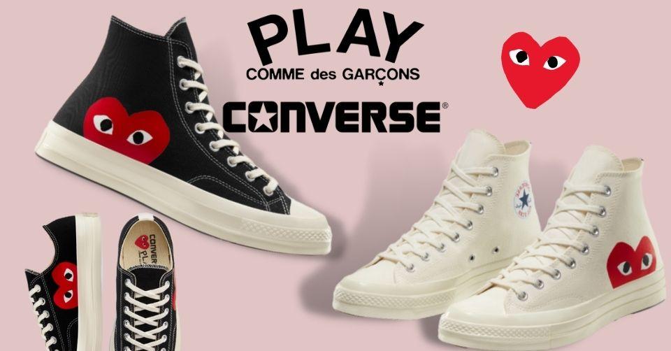 Restock van de Comme des Garçons PLAY x Converse Chuck 70