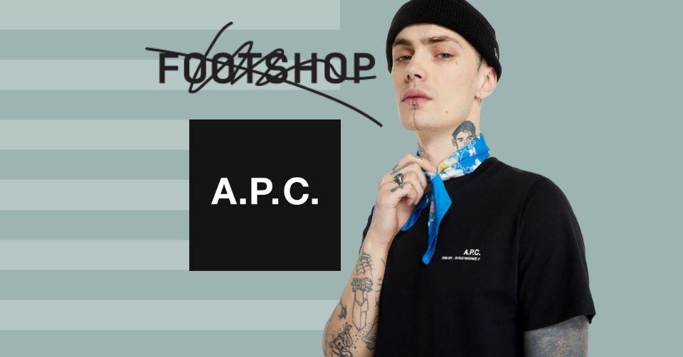 Items van A.P.C. verkrijgbaar bij Footshop