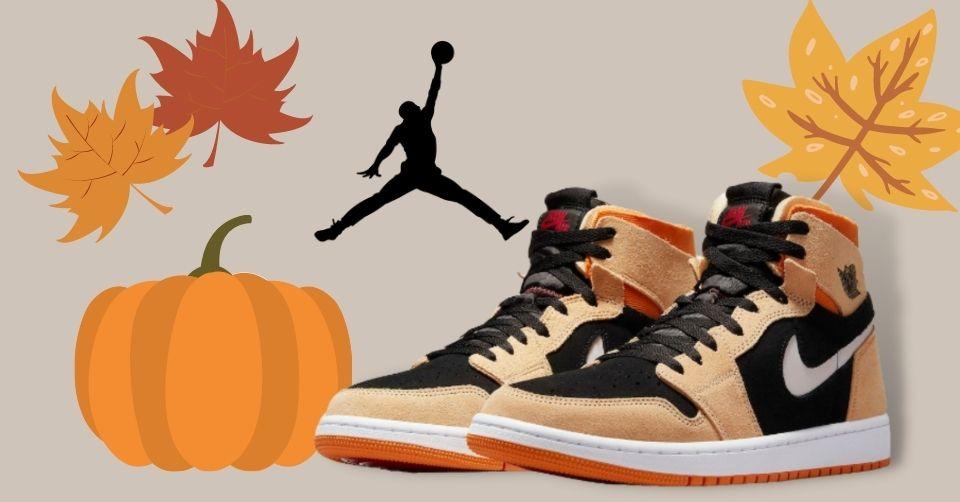 Air Jordan 1 Zoom CMFT komt met 'Pumpkin Spice' colorway