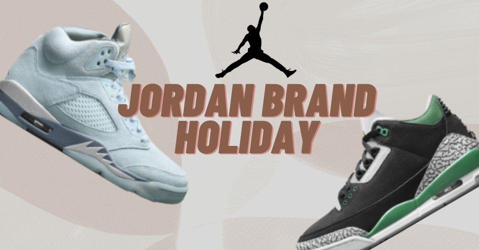 De Jordan Brand Holiday collectie van 2021