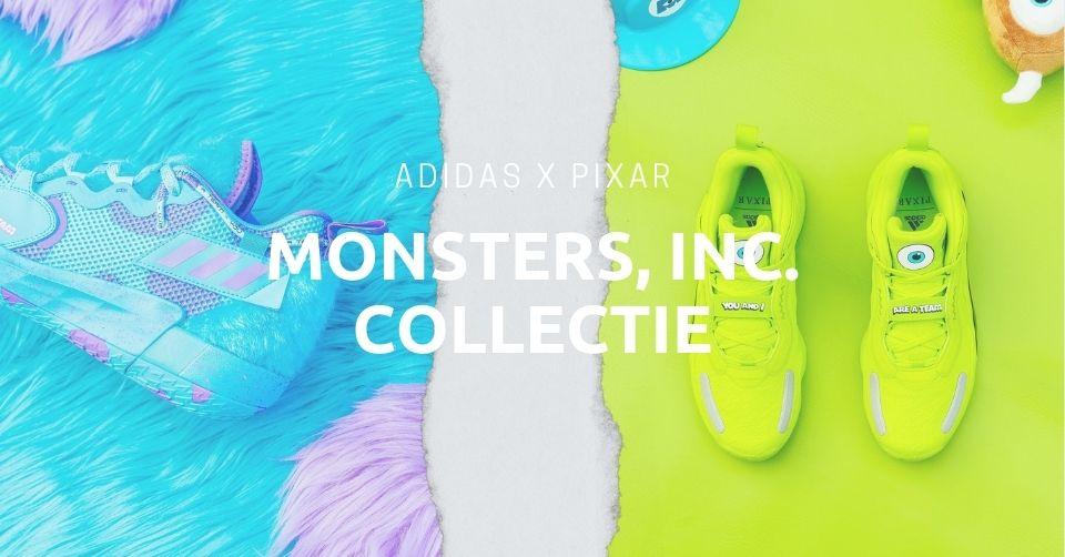 Monsters, Inc collectie Pixar & adidas