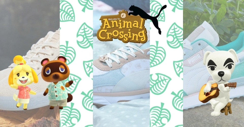 PUMA onthult Animal Crossing™: New Horizons Collab