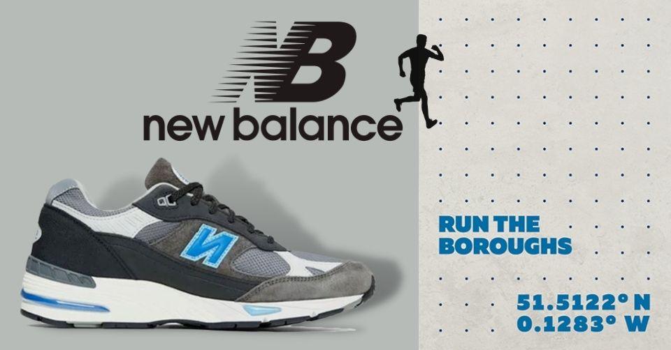 Run The Boroughs x New Balance released binnenkort