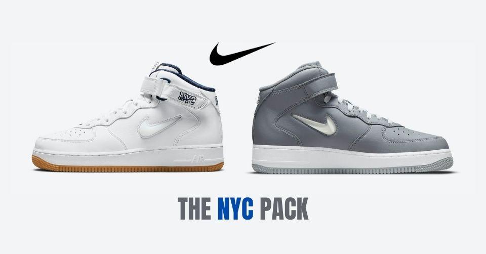 De Air Force 1 Mid komt met een NYC Pack
