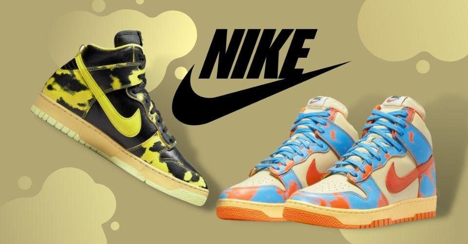 Nike Dunk High 1985 Acid Wash krijgt twee nieuwe colorways