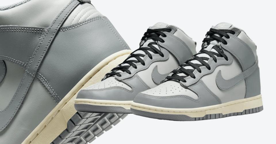 Nike Dunk High 'Grey Scale'