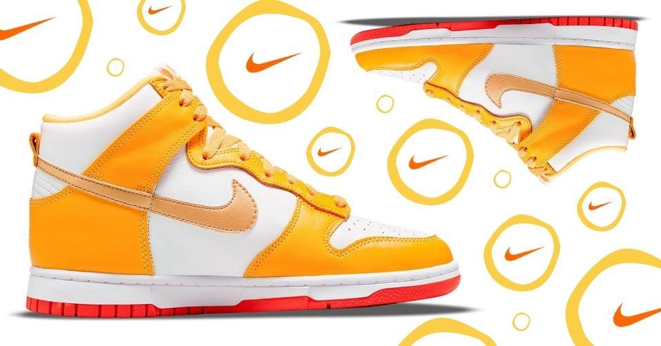 Nike Dunk High 'Laser Orange'