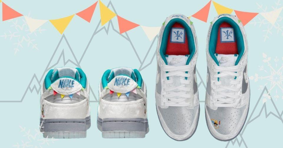 Nike Dunk Low 'Ice' met winterthema release