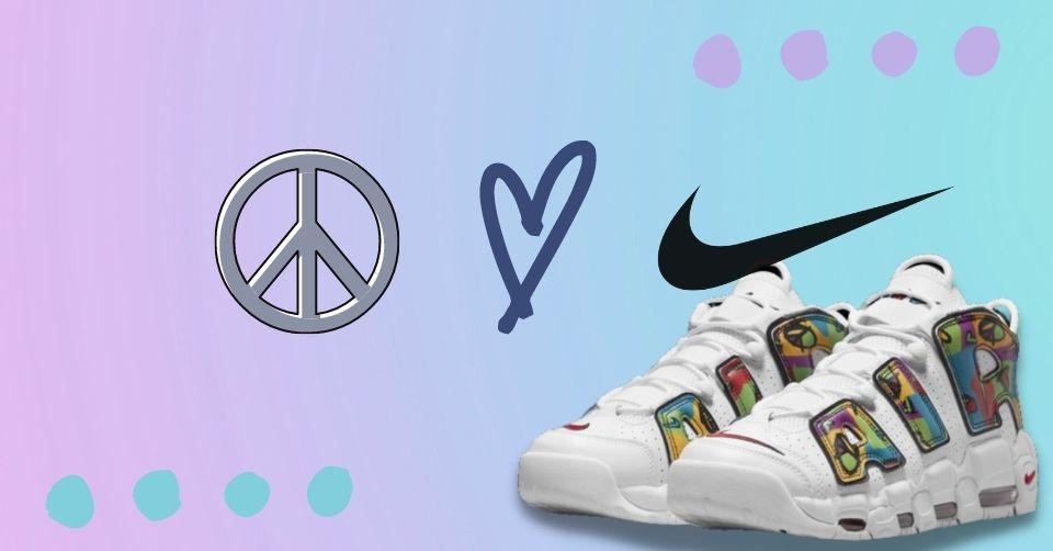 Nike heeft Peace, Love, Swoosh pack uitgebracht