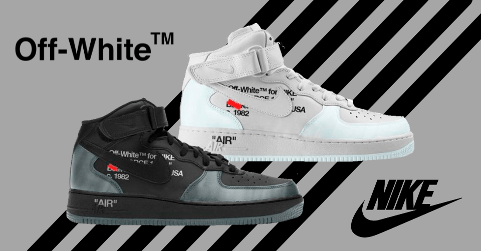 Off-White x Nike Air Force 1 Mid
