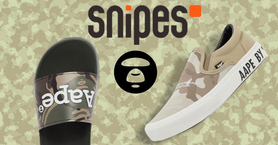 Aape Footwear by Bathing Ape verkrijgbaar bij Snipes