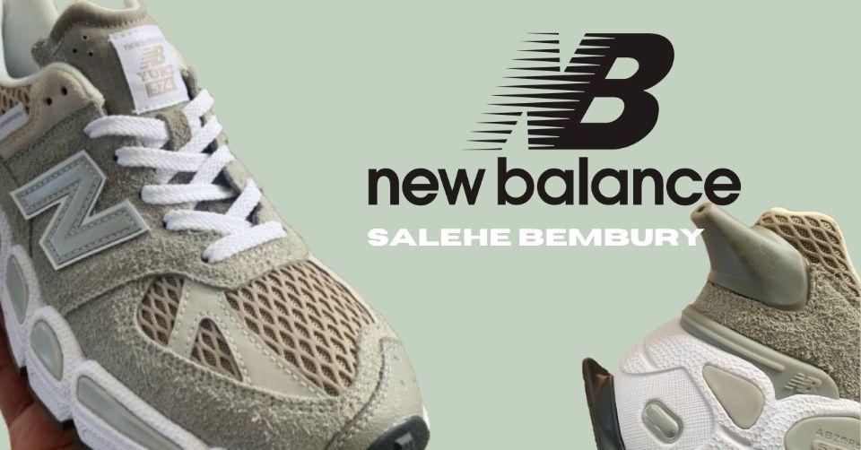 De New Balance 'Yurt' met Salehe Bembury komt in 2021 uit