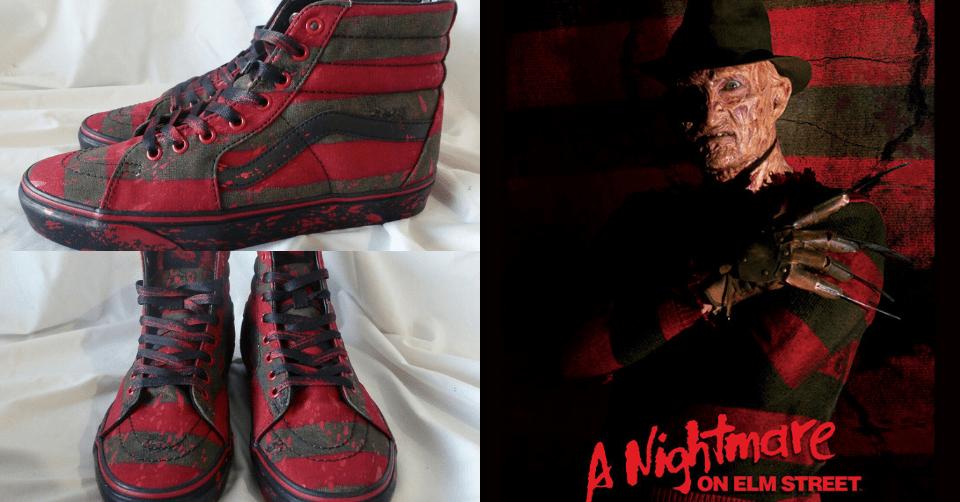 Vans Sk8-Hi 'Freddy Krueger'