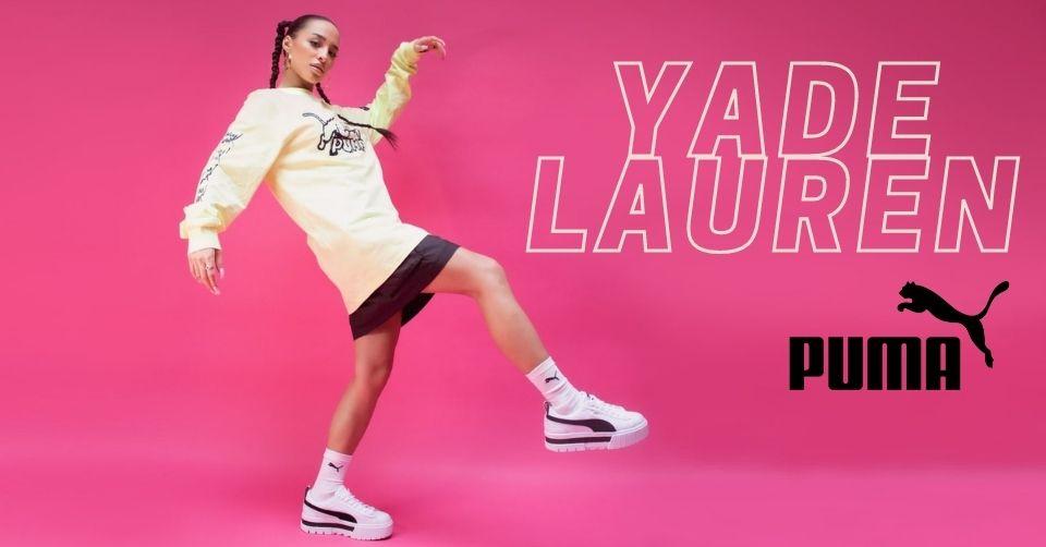 Puma tekent Yade Lauren als nieuwe ambassadeur