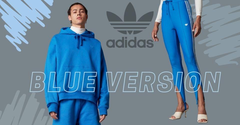 Nieuwe collectie adidas Blue Version