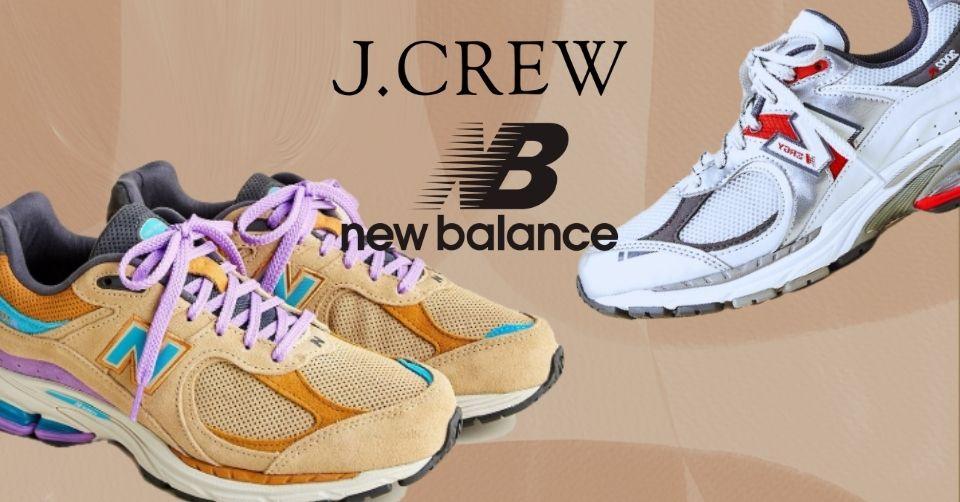 J. Crew brengt nieuwe colorways New Balance 2002R uit