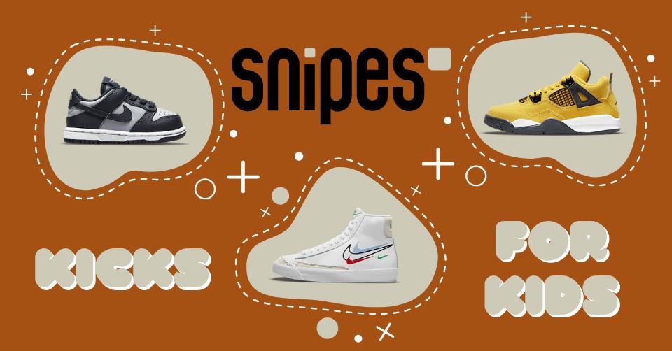 kids sneakers snipes