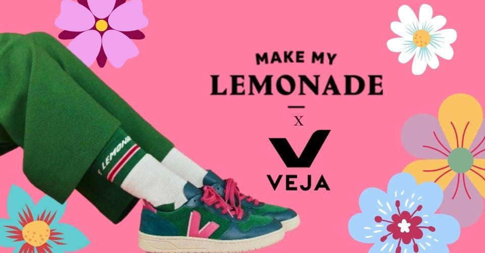 De VEJA x Make My Lemonade collectie staat online