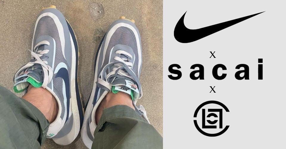 CLOT x Sacai x Nike LDWaffle 'Kiss of Death 2' wordt in oktober gereleased