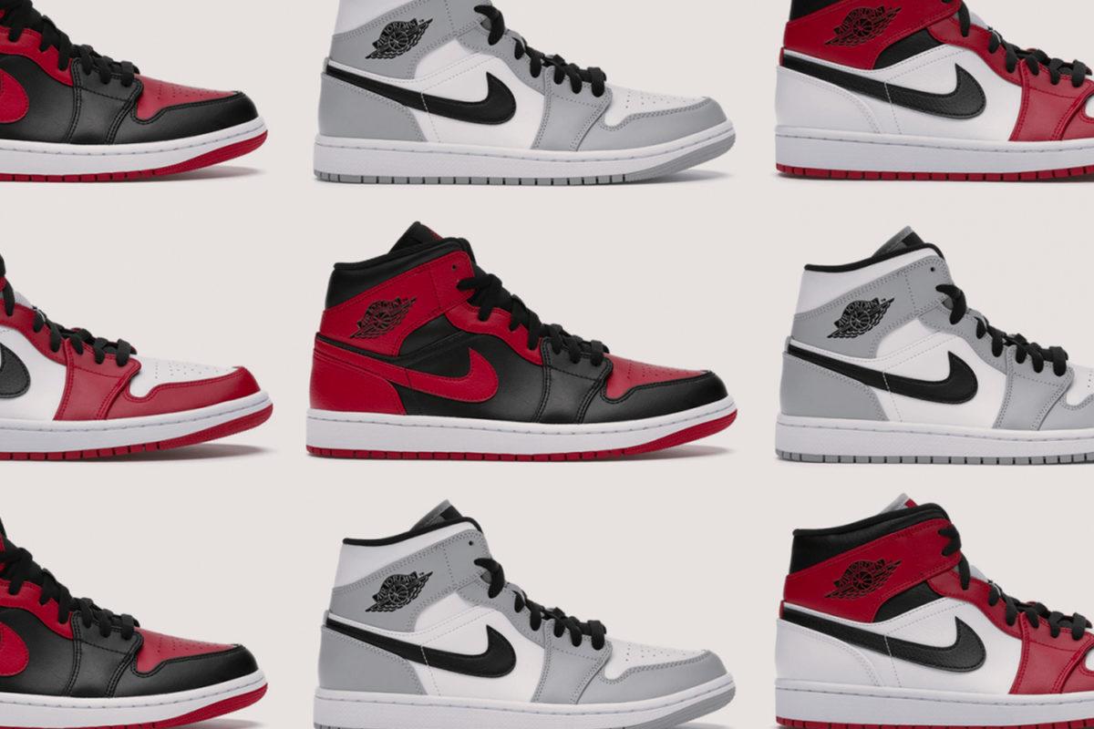 De Air Jordan 1 Mid begint de wereld over te nemen 🗺️
