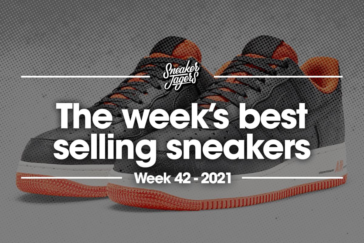 De 5 bestverkochte sneakers van week 42
